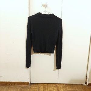 Crop Top/Long Sleeve